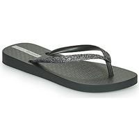 Cipők Lány Lábujjközös papucsok Ipanema LOLITA IV Fekete