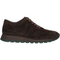 Cipők Férfi Rövid szárú edzőcipők Cristiano Gualtieri 403 Brown