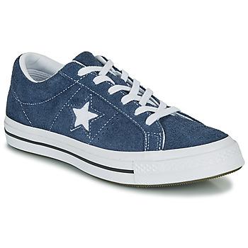 Cipők Rövid szárú edzőcipők Converse ONE STAR OG Kék