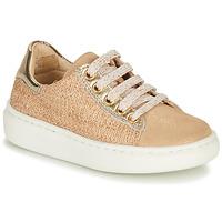 Cipők Lány Rövid szárú edzőcipők Shoo Pom FLASH ZIP LACE Bézs