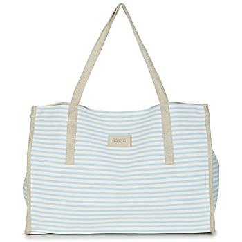 Táskák Női Bevásárló szatyrok / Bevásárló táskák Banana Moon ZENON WELINGTON Fehér / Kék