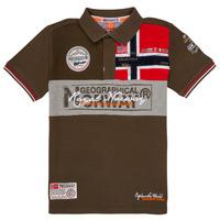 Ruhák Fiú Rövid ujjú galléros pólók Geographical Norway KIDNEY Keki