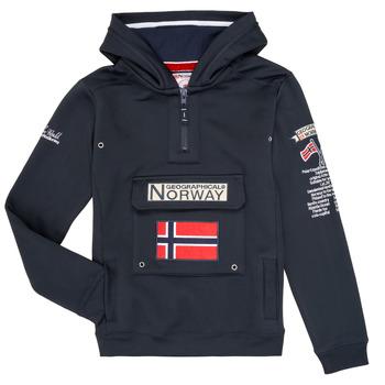 Ruhák Fiú Pulóverek Geographical Norway GYMCLASS Tengerész