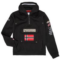 Ruhák Fiú Pulóverek Geographical Norway GYMCLASS Fekete