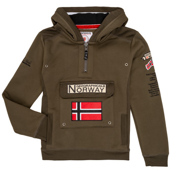 Ruhák Fiú Pulóverek Geographical Norway GYMCLASS Keki