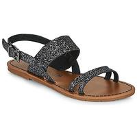 Cipők Női Szandálok / Saruk Chattawak MONIA Fekete