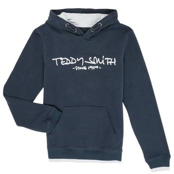 Ruhák Fiú Pulóverek Teddy Smith SICLASS Kék