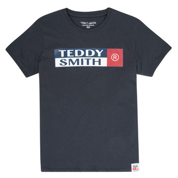 Ruhák Fiú Rövid ujjú pólók Teddy Smith TOZO Tengerész