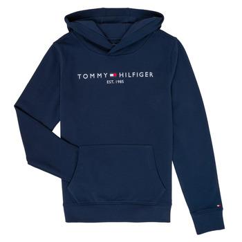 Ruhák Fiú Pulóverek Tommy Hilfiger KB0KB05673 Tengerész