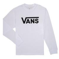 Ruhák Fiú Hosszú ujjú pólók Vans BY VANS CLASSIC LS Fehér