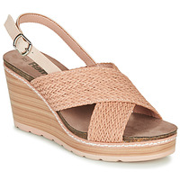 Cipők Női Szandálok / Saruk Refresh NANI Bőrszínű