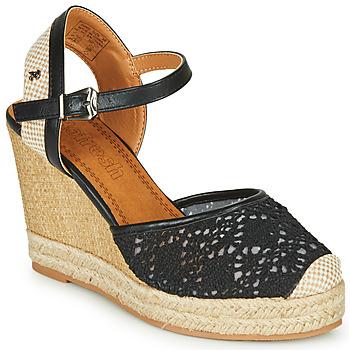 Cipők Női Szandálok / Saruk Refresh LARENA Fekete