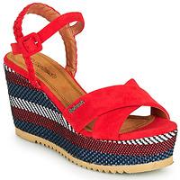 Cipők Női Szandálok / Saruk Refresh LOCKAL Piros