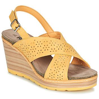 Cipők Női Szandálok / Saruk Refresh RILO Citromsárga