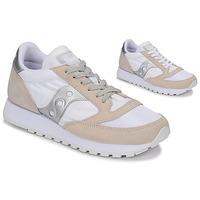 Cipők Rövid szárú edzőcipők Saucony Jazz Vintage Fehér / Bézs / Ezüst