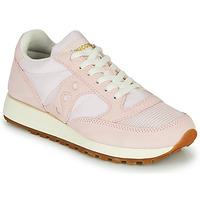 Cipők Női Rövid szárú edzőcipők Saucony Jazz Vintage Rózsaszín