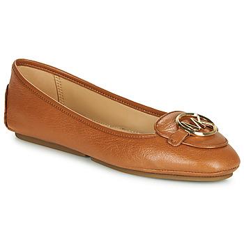 Cipők Női Balerina cipők  MICHAEL Michael Kors LILLIE Konyak