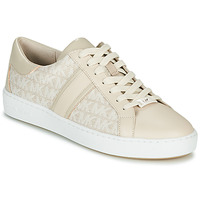 Cipők Női Rövid szárú edzőcipők MICHAEL Michael Kors KEATON STRIPE Bézs