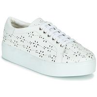 Cipők Női Rövid szárú edzőcipők Cristofoli NALA Fehér