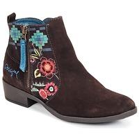 Shoes Női Bokacsizmák Desigual NATALIA Csokoládé