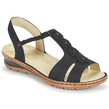 Cipők Női Szandálok / Saruk Ara HAWAII Fekete