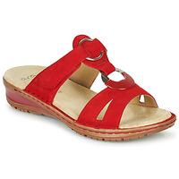 Cipők Női Szandálok / Saruk Ara HAWAII Piros