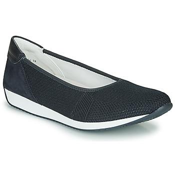 Cipők Női Balerina cipők  Ara PORTO-FUSION Kék