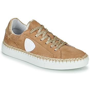 Cipők Női Rövid szárú edzőcipők Philippe Morvan GIFT Bézs