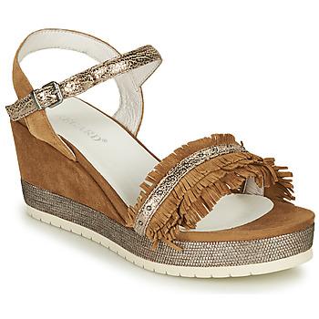 Cipők Női Szandálok / Saruk Regard DURTAL V2 CROSTA CUOIO Barna