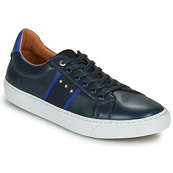 Cipők Férfi Rövid szárú edzőcipők Pantofola d'Oro ZELO UOMO LOW Kék