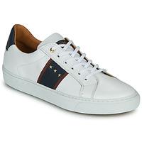 Cipők Férfi Rövid szárú edzőcipők Pantofola d'Oro ZELO UOMO LOW Fehér