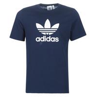 Ruhák Férfi Rövid ujjú pólók adidas Originals ED4715 Tengerész