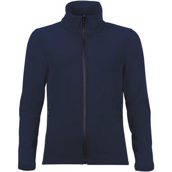 Ruhák Női Melegítő kabátok Sols RACE WOMEN SOFTSHELL Azul