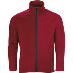 Ruhák Férfi Melegítő kabátok Sols RACE MEN SOFTSHELL Rojo