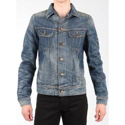 Ruhák Férfi Kabátok / Blézerek Lee Kurtka jeansowa  Rider Jacket L88842RT granatowy
