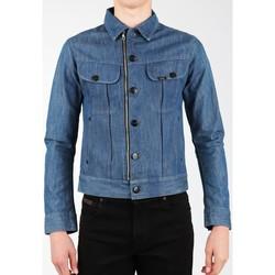 Ruhák Férfi Kabátok / Blézerek Lee Kurtka jeansowa  X Biker Rider L887DNXE niebieski