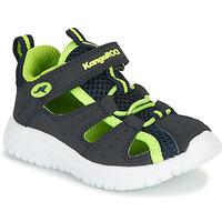 Cipők Fiú Szandálok / Saruk Kangaroos KI-Rock Lite EV Kék / Citromsárga