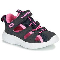Cipők Lány Szandálok / Saruk Kangaroos KI-Rock Lite EV Kék / Rózsaszín