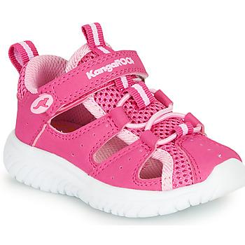 Cipők Lány Szandálok / Saruk Kangaroos KI-Rock Lite EV Rózsaszín
