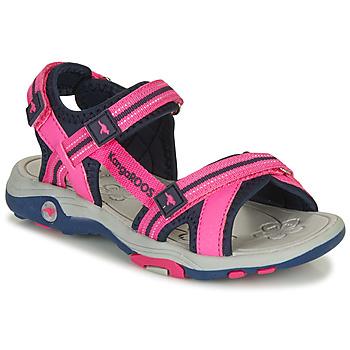 Cipők Lány Szandálok / Saruk Kangaroos K-Leni Rózsaszín