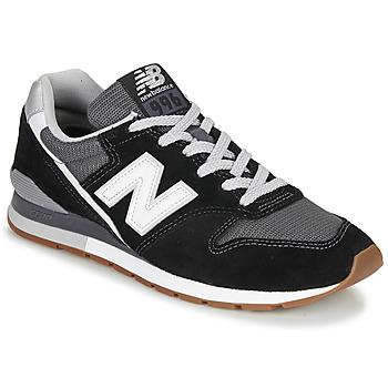 Cipők Rövid szárú edzőcipők New Balance 996 Fekete  / Fehér