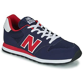 Cipők Férfi Rövid szárú edzőcipők New Balance 500 Kék / Piros