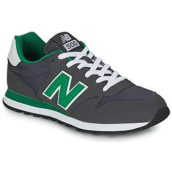 Cipők Férfi Rövid szárú edzőcipők New Balance 500 Szürke / Zöld