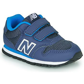 Cipők Fiú Rövid szárú edzőcipők New Balance 500 Kék