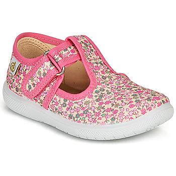 Cipők Lány Balerina cipők  Citrouille et Compagnie MATITO Rózsaszín / Sokszínű