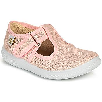 Cipők Lány Balerina cipők  Citrouille et Compagnie MATITO Rózsaszín / Fémes