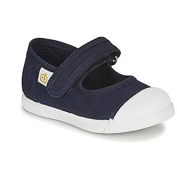 Cipők Gyerek Balerina cipők  Citrouille et Compagnie APSUT Kék / Tengerész