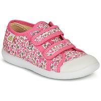 Cipők Lány Rövid szárú edzőcipők Citrouille et Compagnie GLASSIA Rózsaszín / Sokszínű