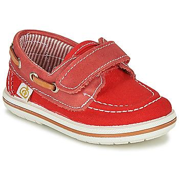 Cipők Fiú Vitorlás cipők Citrouille et Compagnie GASCATO Piros