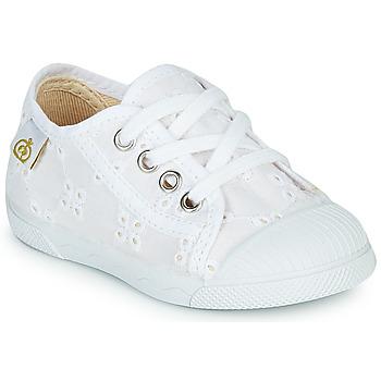 Cipők Lány Rövid szárú edzőcipők Citrouille et Compagnie MALIKA Fehér